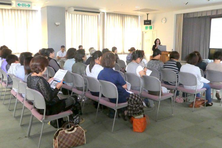 出張講座@徳之島・天城町役場で講演しました