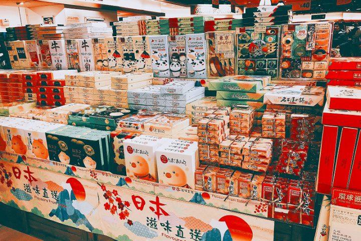 香港のスーパーの売場づくり2