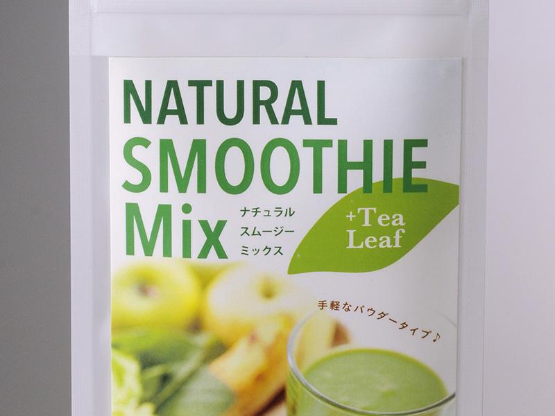 Natural Smoothie Mix:パッケージデザイン