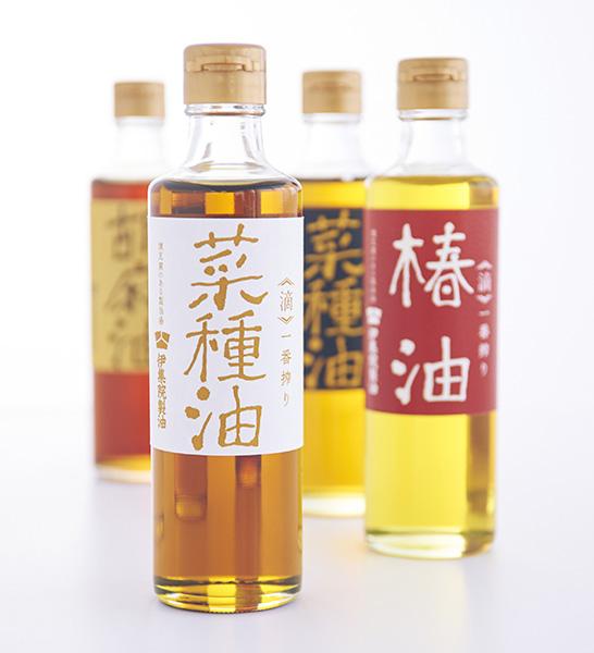 伝統製法「伊集院製油」:ロゴデザイン・パンフレットデザイン
